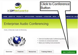 XOP Networks' Audio Conference Bridges now support WebRTC based access