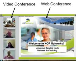 XOP Networks Adds Desktop Video Conferencing to its Web Conferencing Application